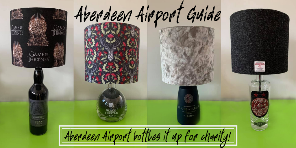 Aberdeen Airport Bottle Artwork