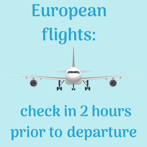 Aberdeen Flight Departures - European flights