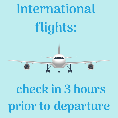 Aberdeen Flight Departures - International flights