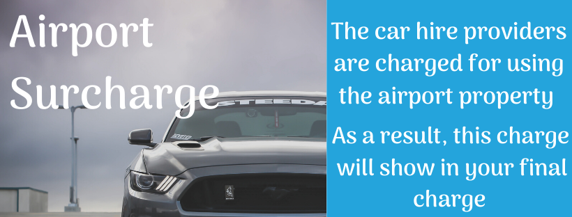 Car Hire at Aberdeen Airport - airport surcharge